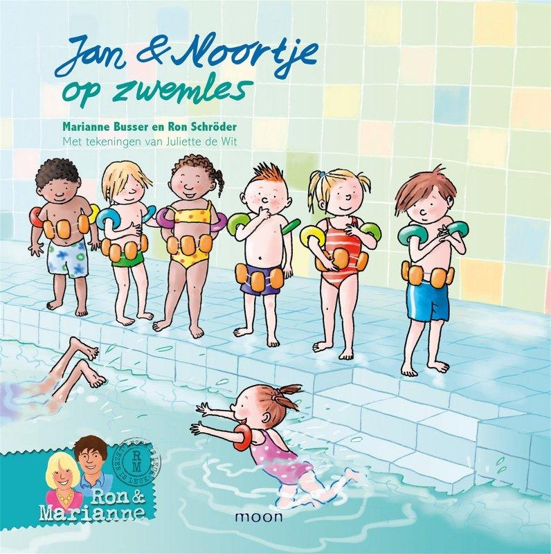 Ron Schröder en Marianne Busser - Jan & Noortje op zwemles