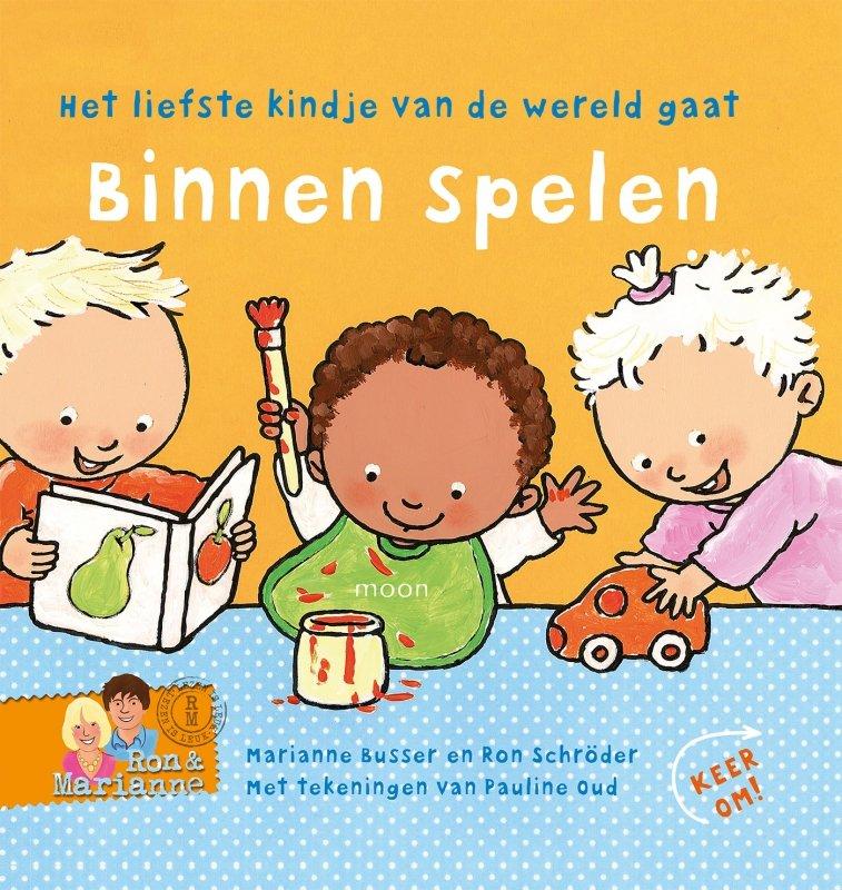 Ron Schröder en Marianne Busser - Binnen spelen - Buiten spelen omkeerboek