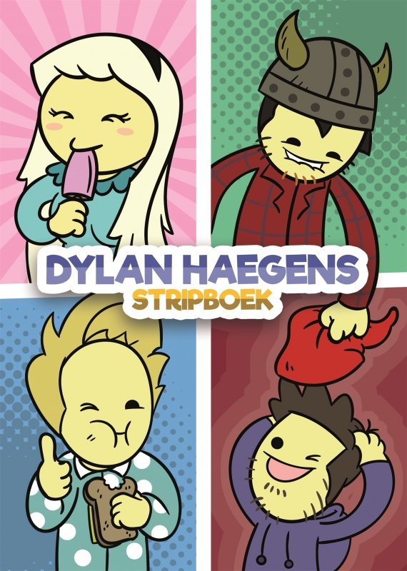 Dylan Haegens - Dylan Haegens Stripboek