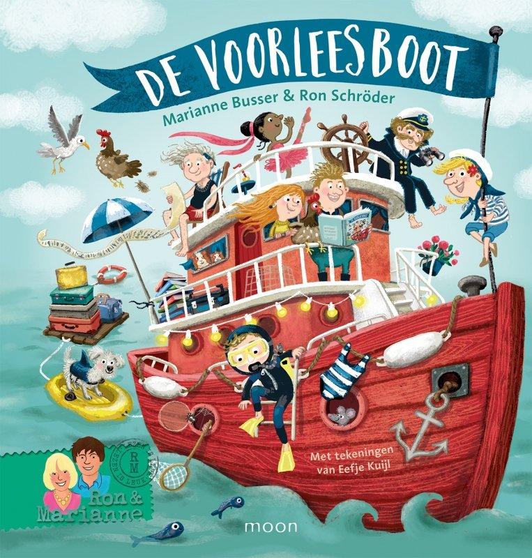 Marianne Busser en Ron Schröder - De voorleesboot