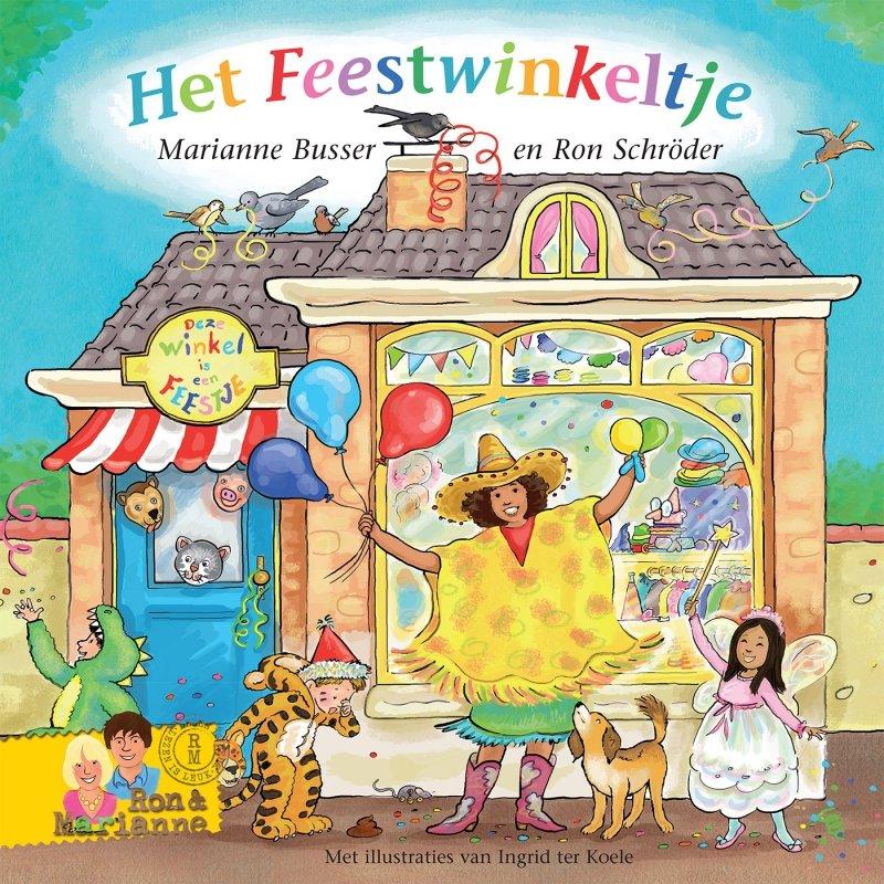 Marianne Busser en Ron Schröder - Het Feestwinkeltje