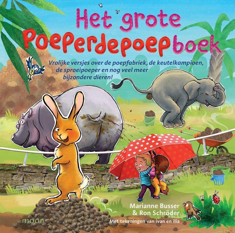 Marianne Busser & Ron Schröder - Het grote poeperdepoepboek