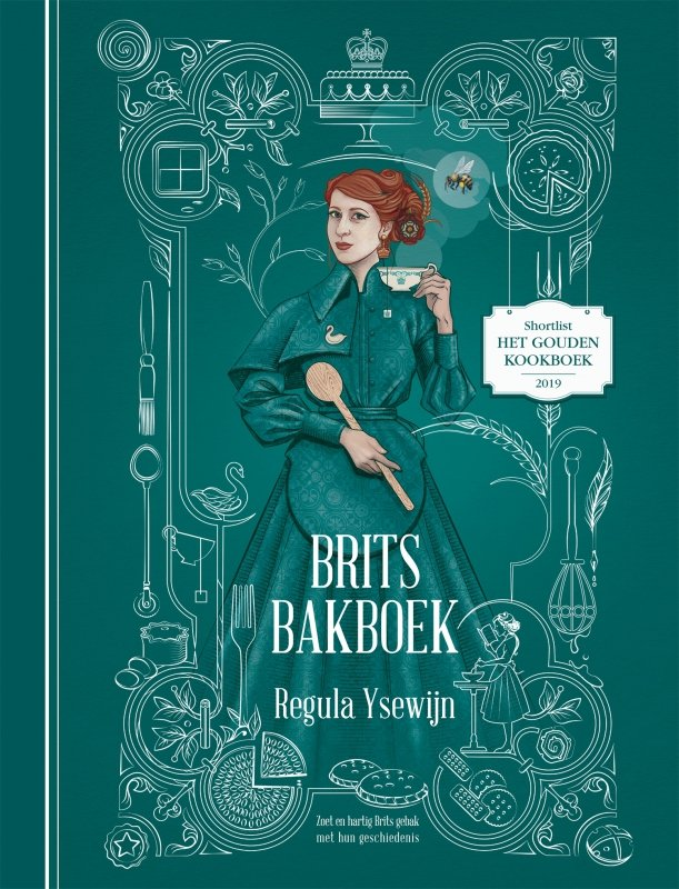 Regula Ysewijn - Brits bakboek