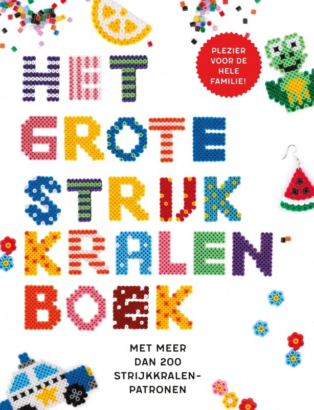 Stine A. Linstad, Ingrid Ryvarden en Astrid Snipsøyr - Het grote strijkkralenboek