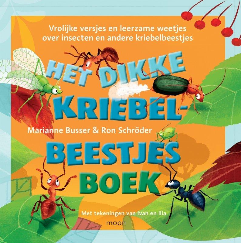 Marianne Busser en Ron Schröder - Het dikke kriebelbeestjesboek