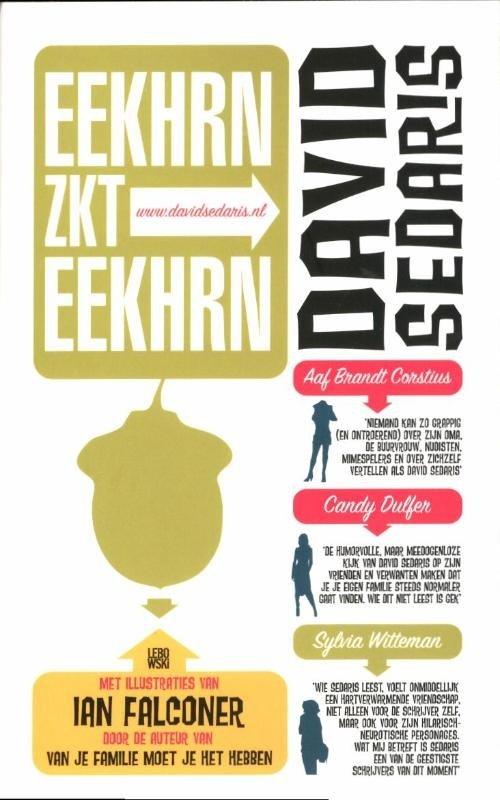 David Sedaris - Eekhrn zkt Eekhrn