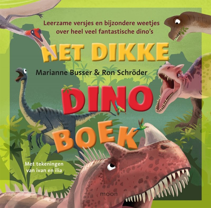 Marianne Busser & Ron Schröder - Het dikke dinoboek