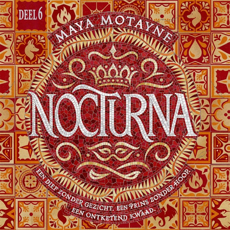 Maya Motayne - Nocturna - deel 6