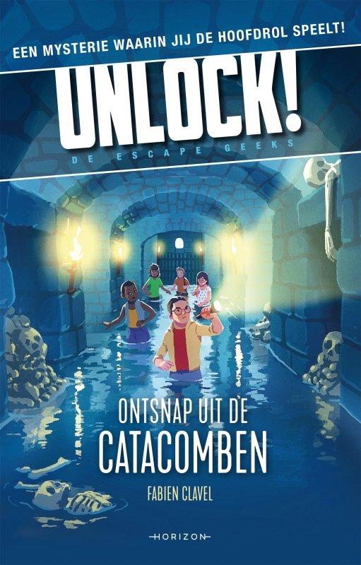 Fabien Clavel - Unlock 1: Ontsnap uit de catacomben