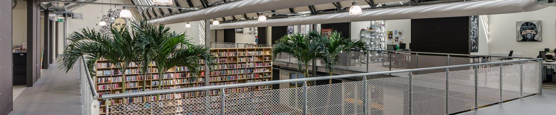 Overamstel Uitgevers office view